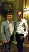 Daniel and Ryan Tubridy this morning in RTE studios...  Click for more